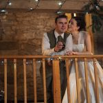 The newly-weds at Knipe Hall